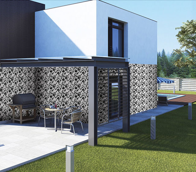 Outdoor Wall Tiles Design