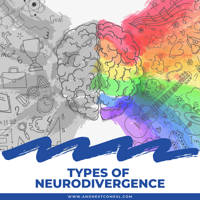 What's considered neurodivergent? Here's a list of some types of neurodivergence.