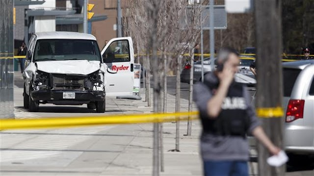 Canada van driver charged with murder, Canada's Prime Minister Justin Trudeau urges calm
