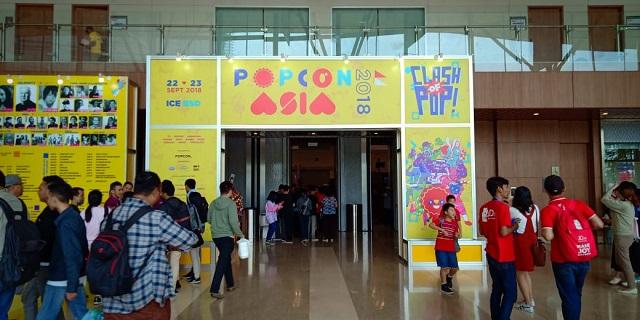 Popcon Asia 2018 di BSD