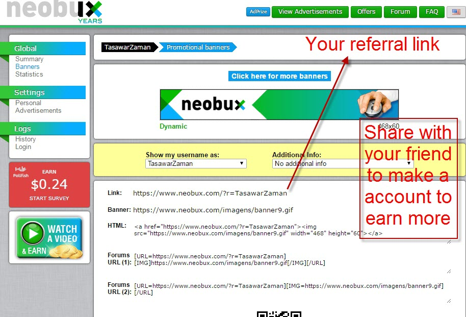 Neobux Guides Youtube How To Open Neobux Account – Melvin
