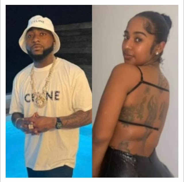 """The disrespect is too much on Chioma"" – Reactions as Davido is seen kissing his new bae, Myah Yafai (Photos)"