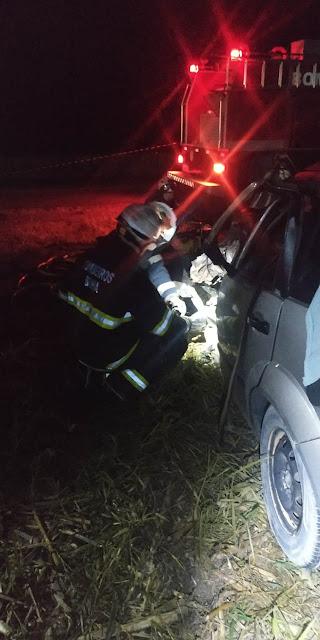 Grave acidente esta madrugada na BR 020 em Roda Velha- BA
