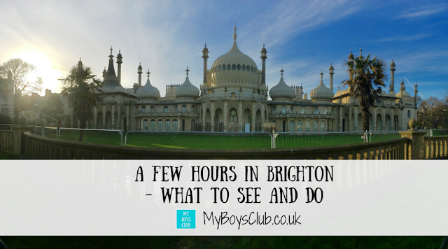 A few hours in Brighton - What to See and Do including Brighton beach, Pier, Royal Pavilion, British Airways i360, The Lanes and ChoccyWoccyDooDah