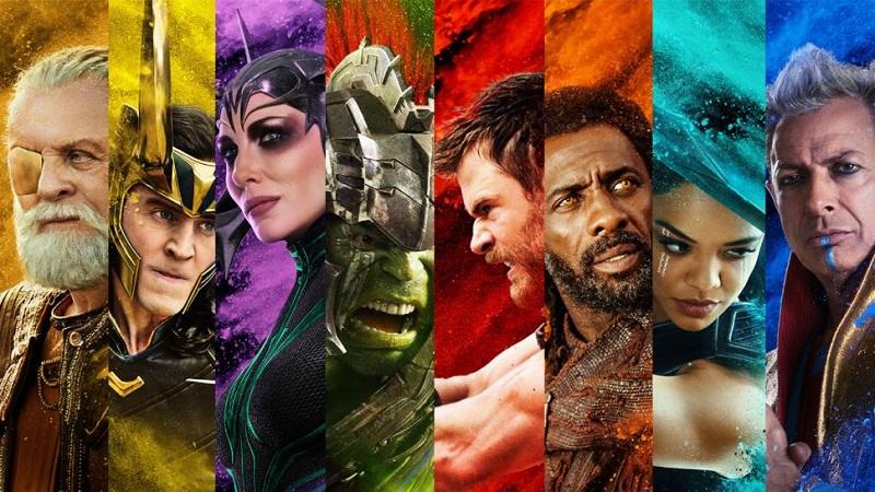 Personagens da Marvel Versus Mitologia Nórdica