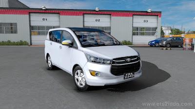Mobil Toyota Innova Crysta v2.0 – ETS2 1.38