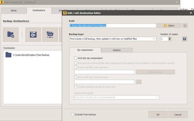 Iperius Backup - Δωρεάν εφαρμογή για να παίρνετε «έξυπνα» τα Backup σας