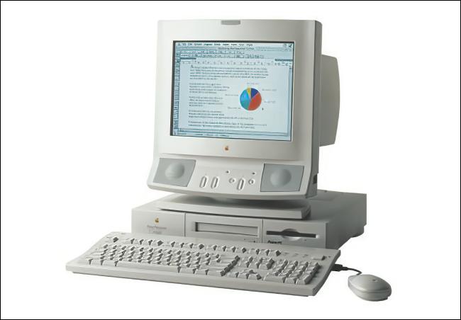 جهاز Apple Power Macintosh 6100.