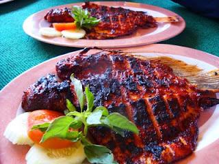 2 Resep Masakan Ikan Bakar Spesial Pedas Manis Bumbu Rujak Kuning Padang Khas Manado Taliwang