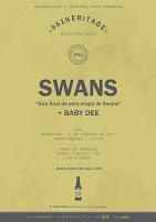 Swans y Baby Dee en el ciclo 981 Heritage