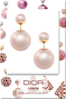 ♦Dior Jewelry Collection II #dior #jewelry #earrings #brilliantluxury