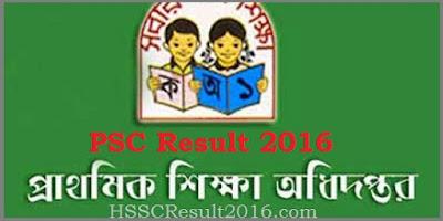 PSC Result 2016 check online- www dperesult teletalk gov bd