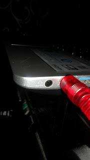Port Mic pada laptop