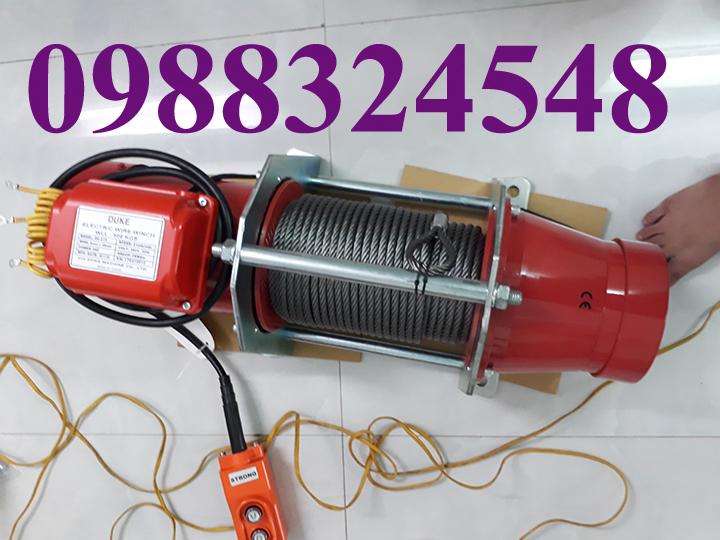 Tời cáp điện DU-210 nâng 500kg