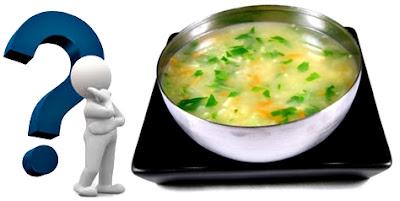 Sopa verduras nutritiva
