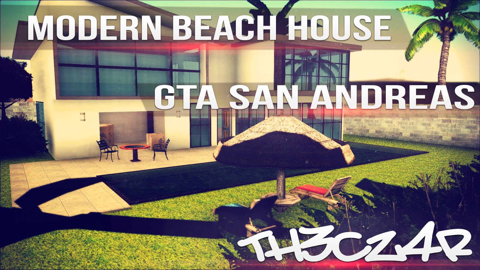 Modern beach house casa moderna en la playa mod hd for Casa moderna 4x4