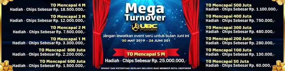 Event Mega Turnover Ubcpoker Ubcpoker Poker Online Indonesia Uang Asli Terbaik Dan Terpercaya Event Mega Turnover Ubcpoker