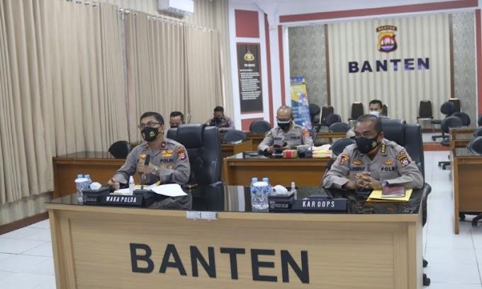 Minggu ke-2 September, Gangguan Kamtibmas di Wilayah Hukum Polda Banten Turun 10%