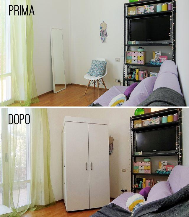 DreamBox - craft room prima e dopo