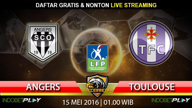 Prediksi Angers vs Toulouse 15 Mei 2016 (Liga Perancis)