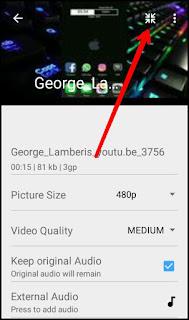 Cara Menambahkan Lagu (musik) Pada Video di Android