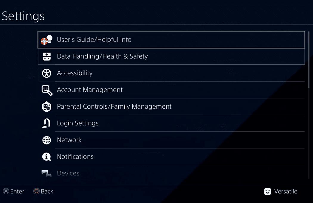 Mengembalikan game PS4 HEN yang hilang setelah Rebuild Database