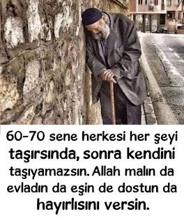 """""""Allah'ım beni Sen kaldır ki; Kimseler yıkamasın."""" (Sadi Şirazi), dost, dua, duvar, duvar süsü, duvar yazısı, eş, mal, mülk,"""
