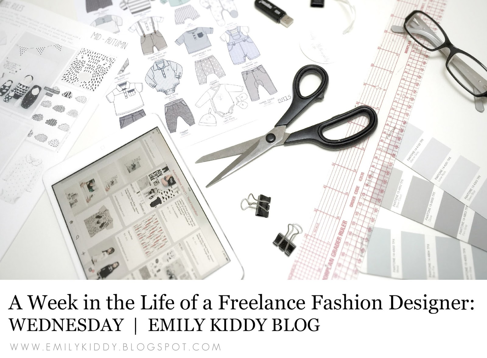 Emily Kiddy A Week In The Life Of A Freelance Fashion Designer Wednesday
