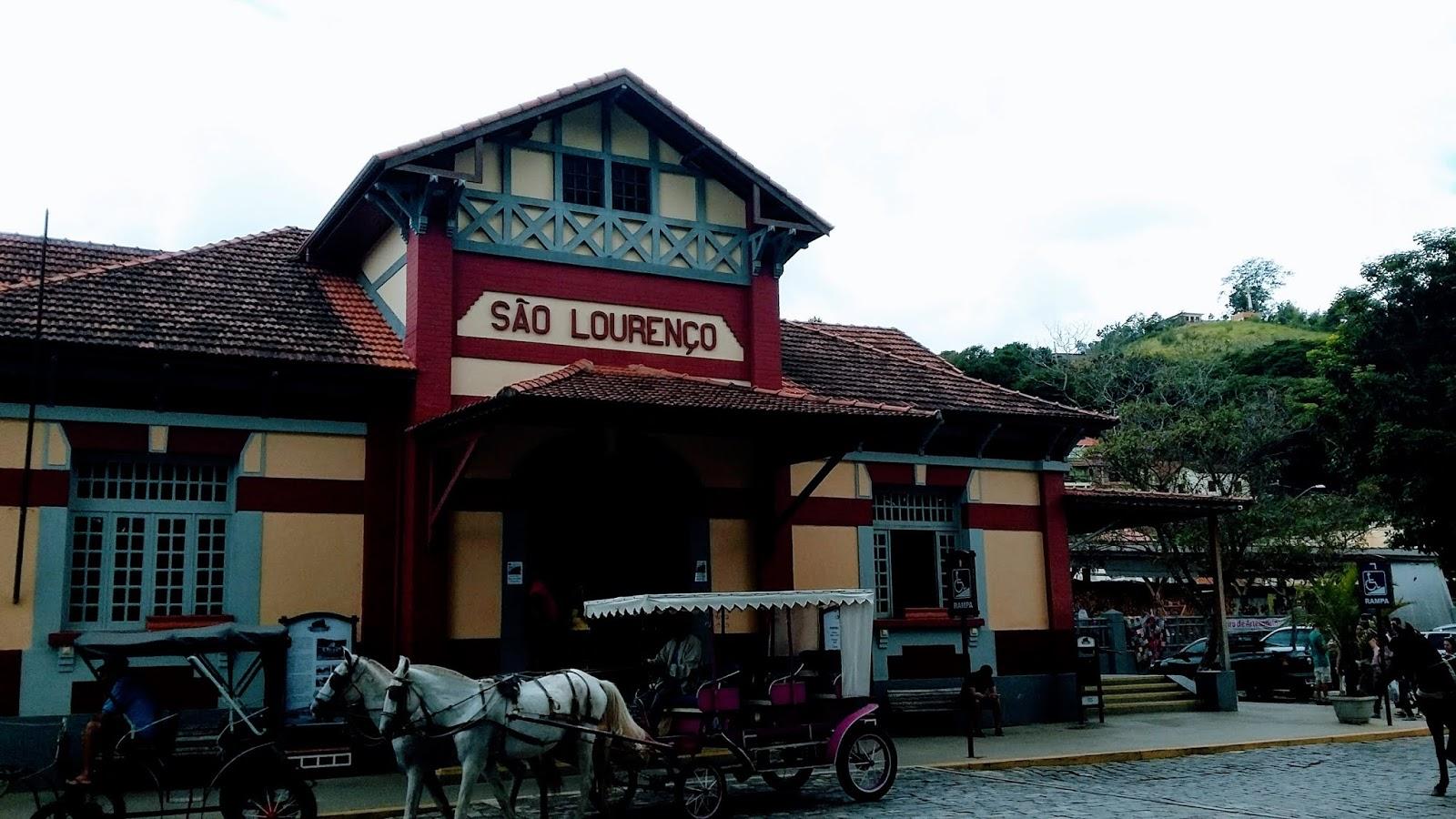 Estação de Trem de São Lourenço