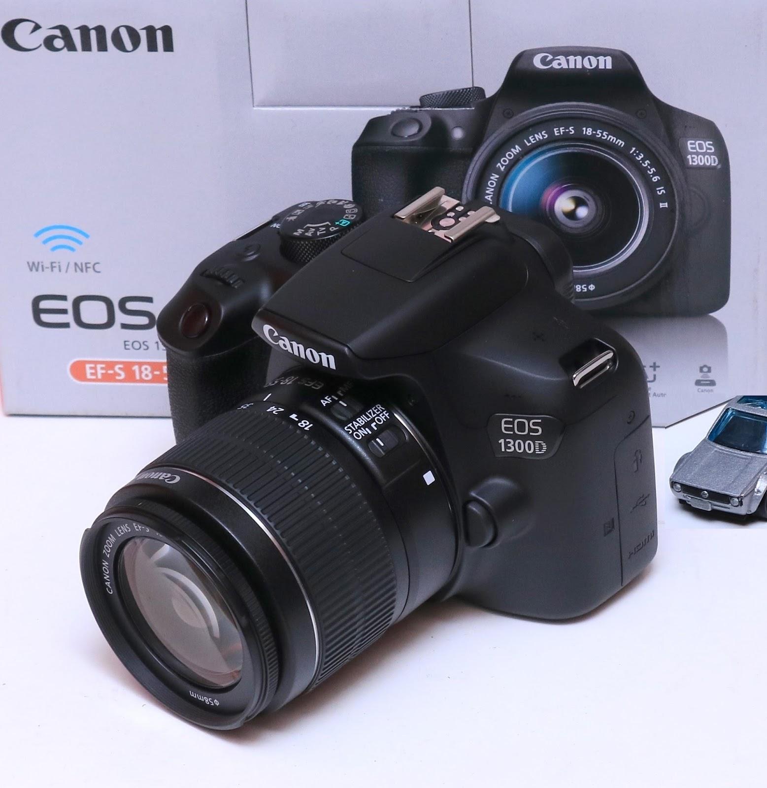 Jual Canon EOS 1300D EF S 18 55 IS II Baru Di Malang
