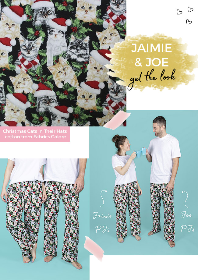 Fabric shopping for the Joe pyjamas - Tilly and the Buttons