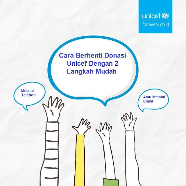 Cara Berhenti Donasi Unicef Dengan 2 Langkah Mudah
