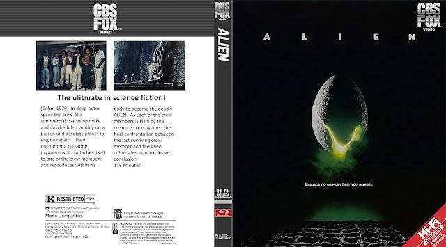 Alien Bluray Cover