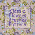 CLASSIC FLOWERS BRUSHES PATTERN