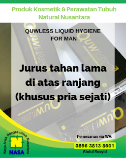 Quwless Liquid Hygiene for Man 3 ml