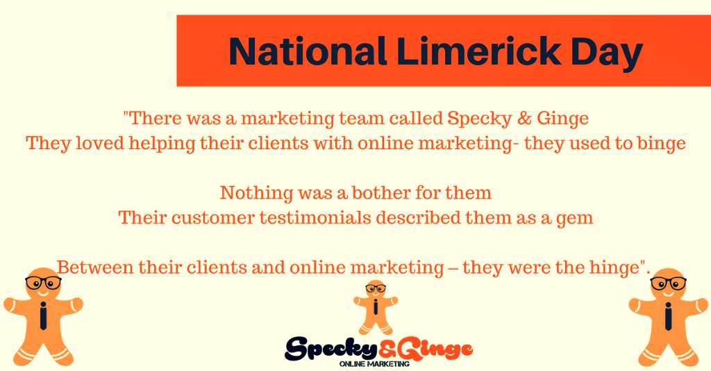 National Limerick Day Wishes Beautiful Image