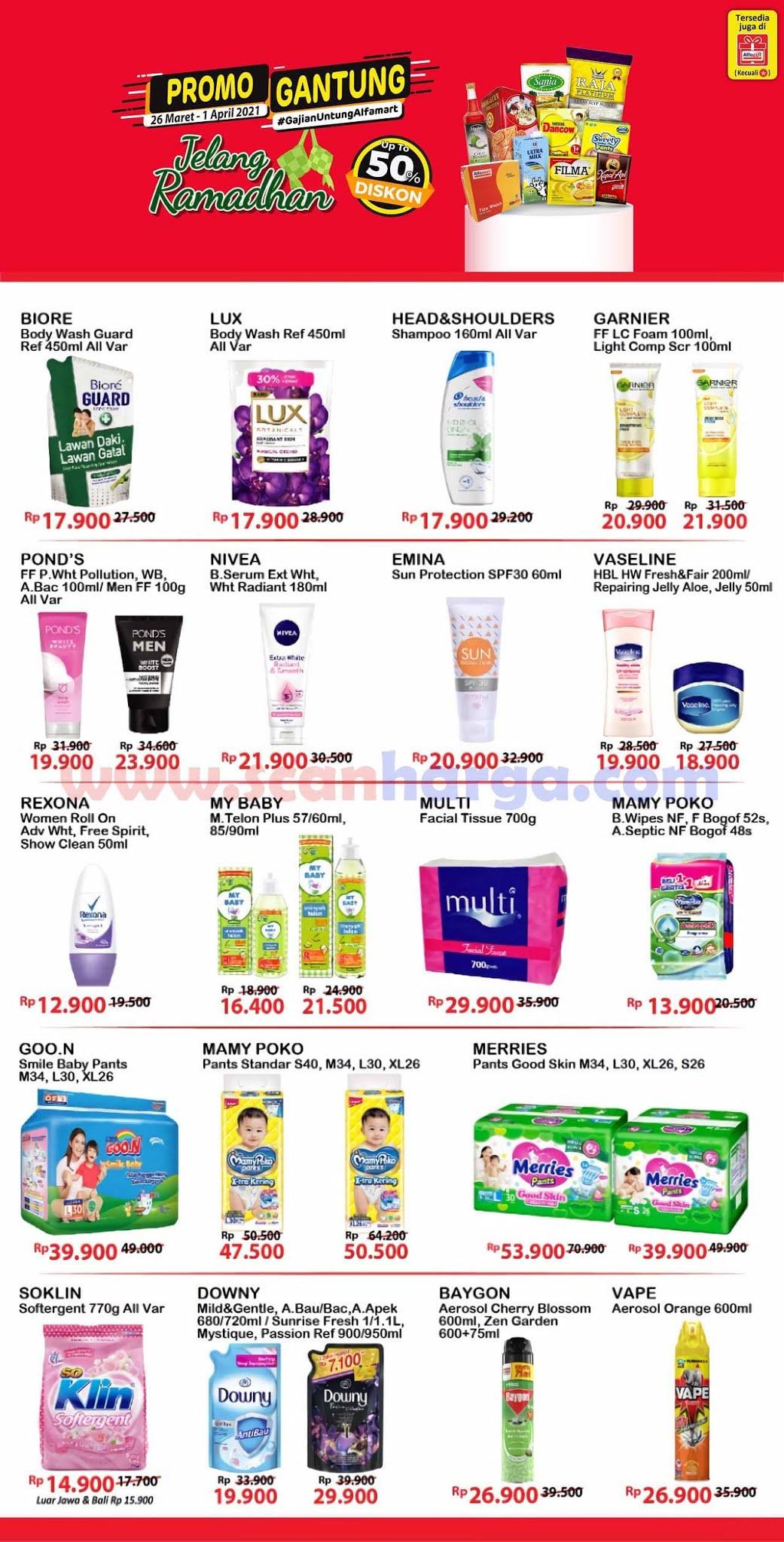 Katalog Promo Alfamart Gajian Untung (Gantung) 26 Maret - 1 April 2021 4