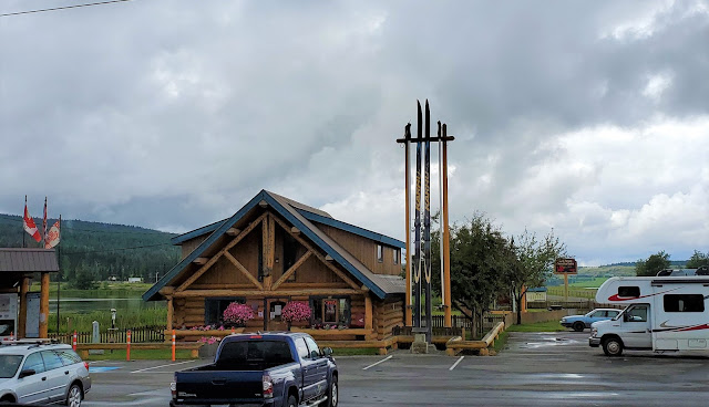 Giant Skis at South Cariboo 100 Mile House BC Canada