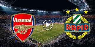 مشاهدة مباراة رابيد فيينا وآرسنال بث مباشر بتاريخ 22-10-2020 في الدوري الأوروبي