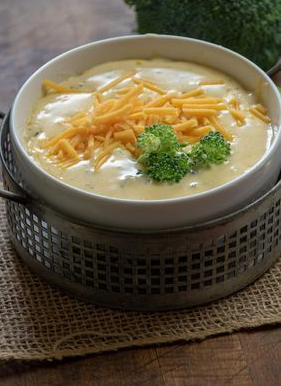 The BEST Keto Broccoli Cheese Soup