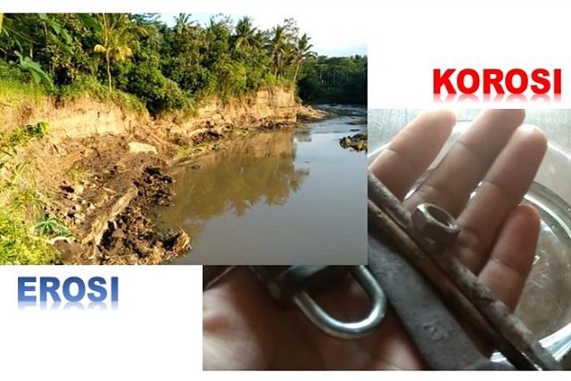 perbedaan erosi dan korosi