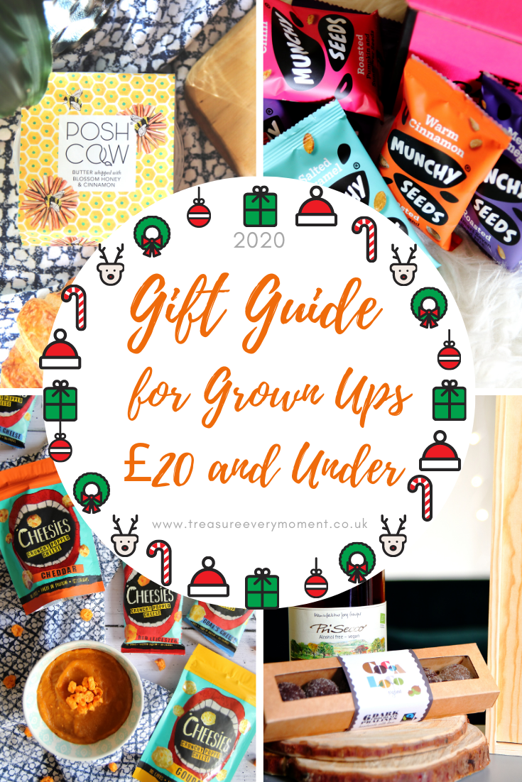 CHRISTMAS: Gift Guide for Grown Ups £20 and Under 2020