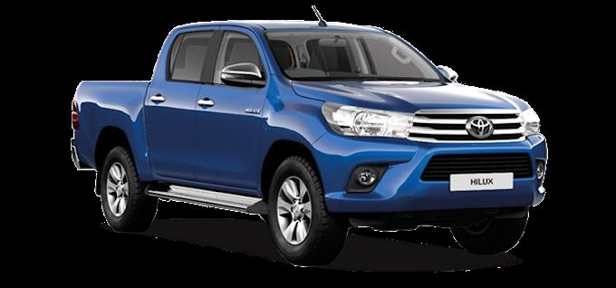 Toyota Hilux Car Pickup truck Toyota Land Cruiser Prado, toyota van, compact Car, van png by: pngkh.com