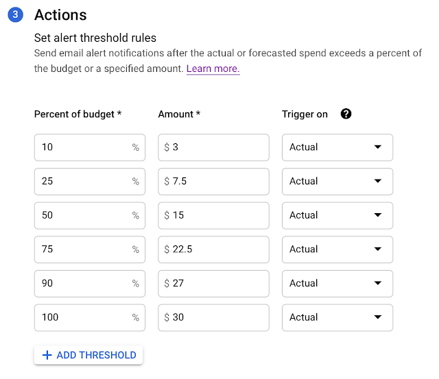 GCP scope monitor actions