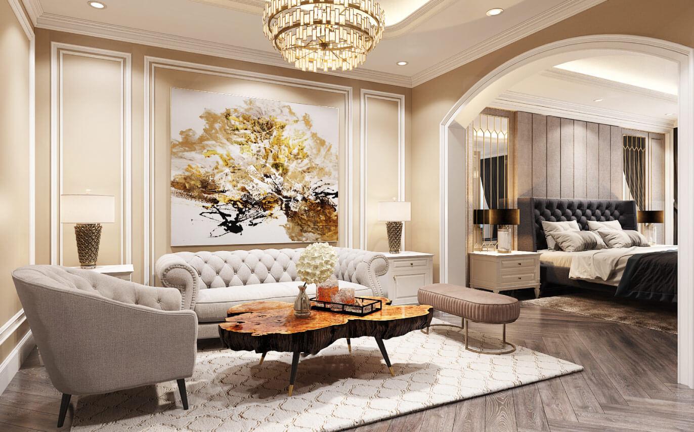 Thiết kế nội thất chung cư Amber Riverside