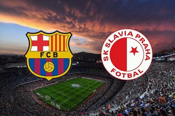 برشلونه اونلاين مشاهدة مباراة برشلونه وسلافيا براغ بث مباشر 23-10-2019 دوري ابطال اوروبا