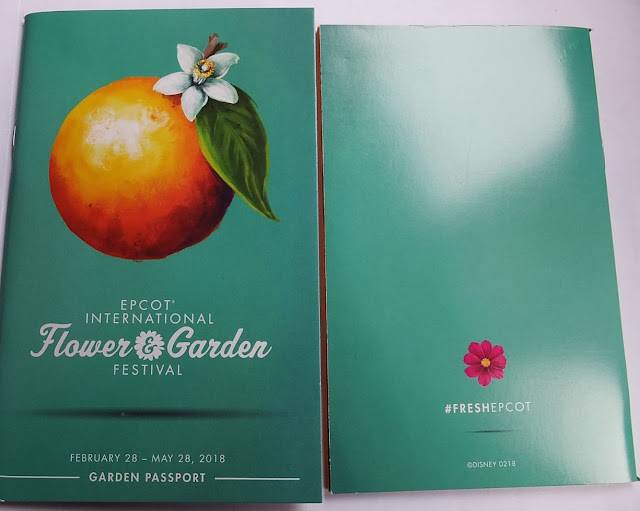 EPCOT Flower and Garden Festival book