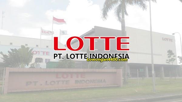 Lowongan Kerja PT. LOTTE Indonesia Cikarang Agustus 2020