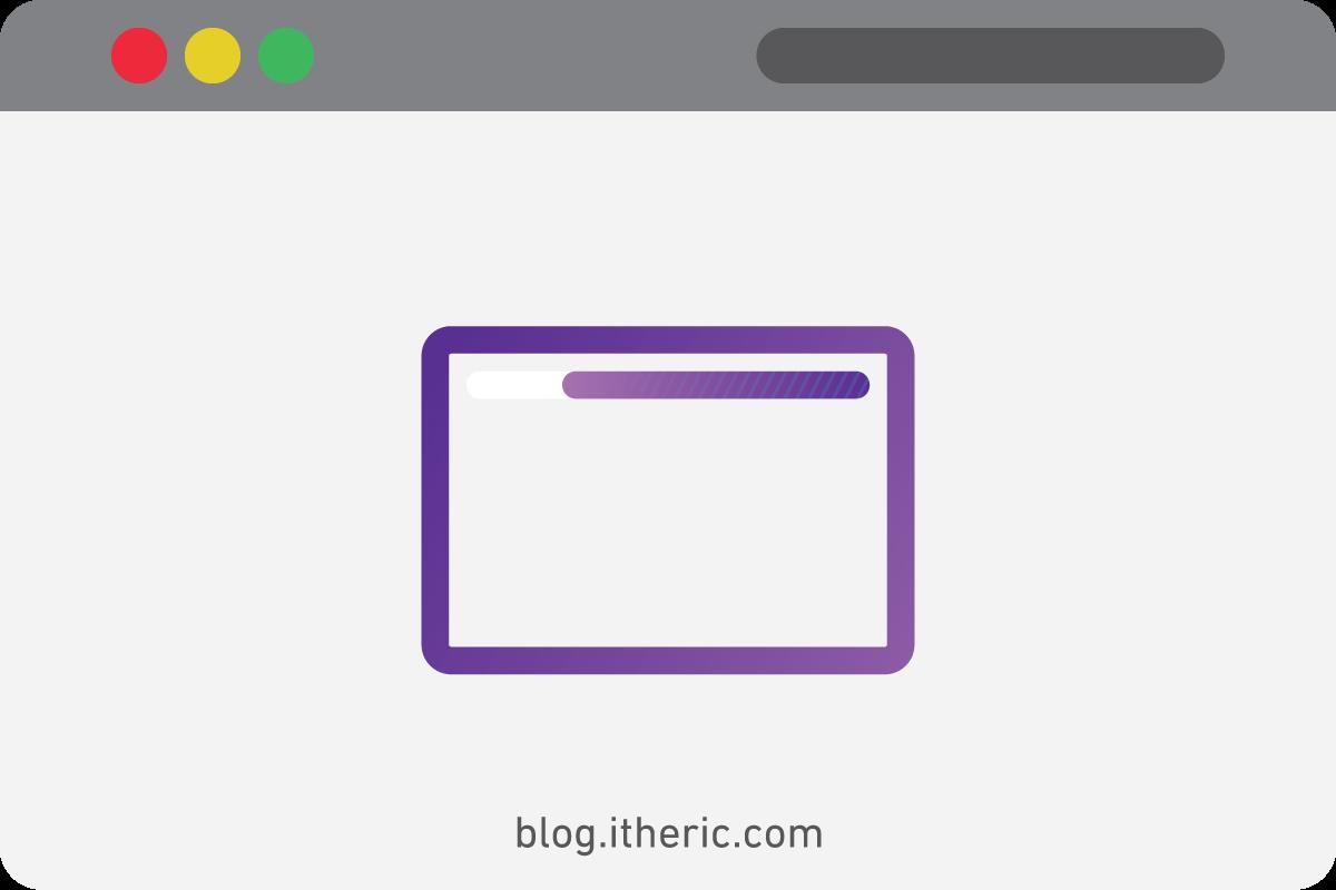 اضافة شريط التقدم وشريط التحميل لمدونة بلوجر