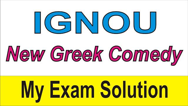 New Greek Comedy
